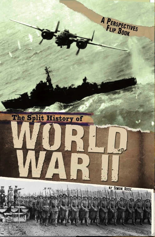 Book Cover Photography History : The split history of world war ii simon rose